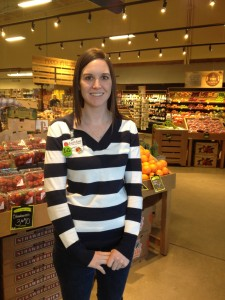 Patricia O'Donnell, Community Relations Coordinator for EarthFare Supermarket in Fairview Park, Ohio.