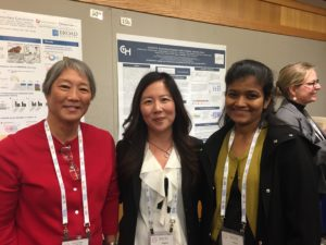 Angela Waanders (center) from Children's Hospital of Philadelphia. Research Title: Cavatica: empowering research with a pediatric genomic cloud.